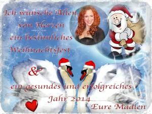weihnachtskarte Madlen_mit Rahmen